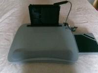 SOFIA + SAM memory foam lapdesk with light model #5095 bnib laptop tablet