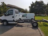 13 REG IVECO CHASSIS CAB LWB AUTOMATIC (IDEAL FOR TIPPER OR RECOVERY TRUCK) NO VAT LOW MILES