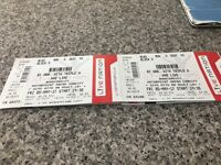 4 WWE Live tickets for Friday 5th May at Cardiff motorpoint arena