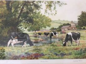 """Anthony Forster Signed Limited Edition Print """"Brooktree Farm"""""""