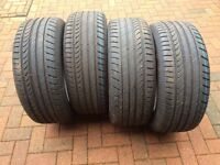 VAN TYRES UNUSED- VW Transporter. Dunlop SP Sport Maxx 235-55-ZR17/103W/EXL . £195 OR £110 a pair.