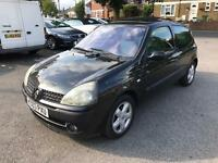 2003 RENAULT CLIO 1.1 NEW MOT DRIVES WELL LOW MILEAGE