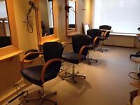 6 x hairdressing salon barber chairs to clear