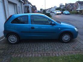Vauxhall Corsa 1.2i Club 16V 3dr LONG MOT