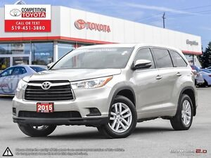 2015 Toyota Highlander LE One Owner, No Accidents, Toyota Ser...