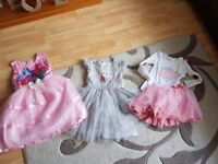 Large bundle of girls dresses age 5-6-7