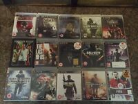 Sony PS3 slimline 120gb, 15 games and 3 wireless controllers, excellent condition