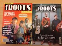 Froots Magazines issues 202 through to 405