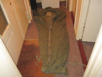 ex Italian army large cold weather sleeping bag.