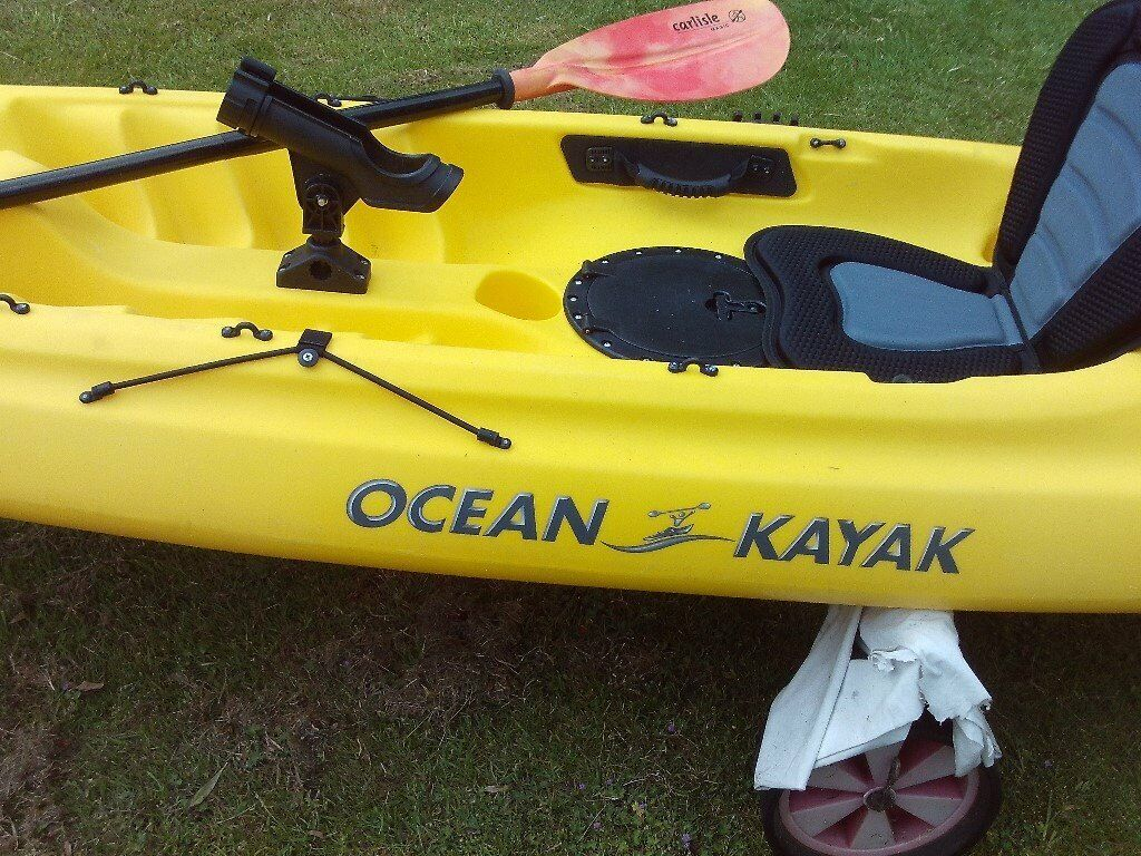 Ocean Kayak Caper  fishing or tour coast' hardly used owing to illness     in Christchurch, Dorset   Gumtree