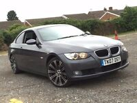 2007 BMW 3 SERIES 320D 2.0 DIESEL AUTOMATIC COUPE EXCELLENT DRIVE NEW MOT NOT 6 CLK 325 330 318 A4