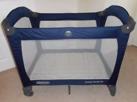 Graco Contour On The Go Travel Cot – Peacoat
