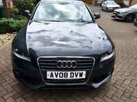 Audi A4 1.8 se 2008 full leather! Fsh, new mot! Showroom condition AA/rac welcome.p-ex welcome!
