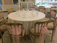 Gold Cheltenham chairs for sale up to 200 available