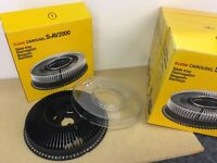 Kodak Carousel S-AV2000 80-slide trays/magazines (6 off) for Kodak projector