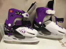 Girls ice skating boots size 33-36