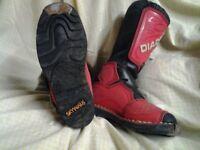 diadora motocross boots , size 4.,