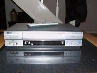 LG LV880 6-HEAD VHS VIDEO RECORDER.