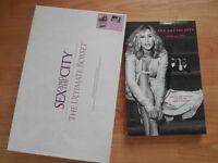 Sex and The City Ultmate Box Set book with the and the first movie