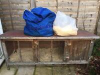 Large Guinea pig / Rabbit hutch