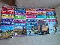 Dartmoor Magazine (A Country Magazine) for sale - copies 1 to 34 - Summer 1998 to Autumn 2006