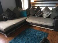 Corner sofa for sale. Available immediately. Must uplift