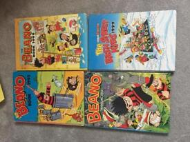 Collectable Beano Annual books.