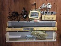 Knitmaster 580 electric knitting machine