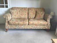 Derwent 3 piece suite sofa & 2 chairs VGC