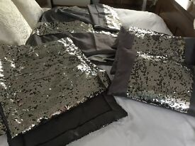 Opulant superking duvet cover & accessories brand new