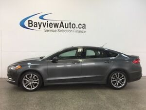 2017 Ford FUSION SE- 2.5L|KEYPAD|SUNROOF|LEATHER|REV CAM|SYNC!