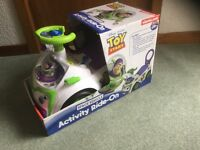 Toy Story Ride-on Activity Car