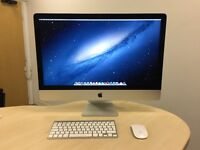 Boxed Apple iMac A1419 27 Slim Late 2013 Quad Core i5 3.2 Ghz, 8GB Ram 1TB - HIGH SPEC !!