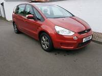 Ford S-Max Zetec Tdci 6G 2007 7 Seater Years mot and warranty included