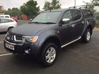 MITSUBISHI L200 ANIMAL DI-D TOP OF THE RANGE LEATHER CANOPY ELECTRIC PACK