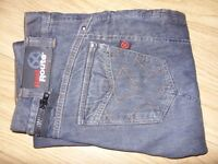 Red Route Ride Out 009 Kevlar Motorbike Jeans / Denims - Good Used Condition - Size 32S - £10