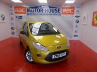 Ford KA STUDIO PLUS(£30.00 ROAD TAX) FREE MOT'S AS LONG AS YOU OWN THE CAR!!! (yellow) 2016