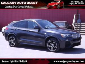 2015 BMW X4 xDrive35i ALL WHEEL DRIVE/M-SPORT/LEATHER/ROOF