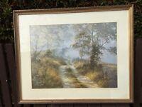 """David Dipnall """"Summer Lane"""" Print"""