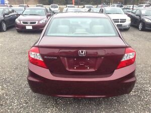 2012 Honda Civic LX 1 Owner - FREE WINTER TIRE PACKAGE London Ontario image 4