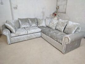 **FEW LEFT IN STOCK** BRAND NEW GLP DUAL ARM CORNER SOFA ON SPECIAL OFFER