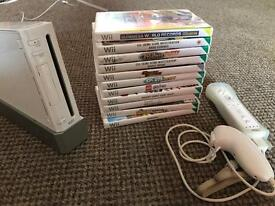 Wii and games with remote!