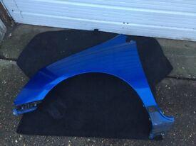Honda civic 2005 sport/ type r blue passenger side wing facelift