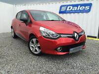Renault Clio Dynamique Nav TCE 90 Petrol (flame red) 2014