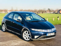Automatic -- Honda Civic 1.8 AUTO i-VTEC EX - i-Shift -- Navigation -- Nice Cream Seats -Part Exc OK