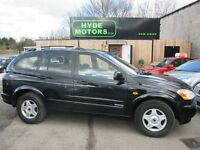SSANGYONG KYRON 2.0 S TD MANUAL (space black) 2006