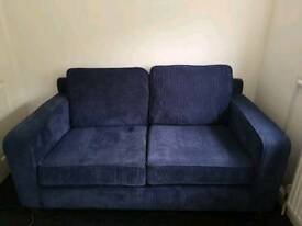 2seater sofa and foot stool