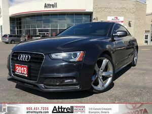 2013 Audi A5 S Line. Smart Key, Bluetooth, Navigation