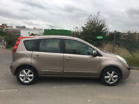 56 reg 2006 nissan note automatic, 5 door 2 owner, 99k hpi clear 100%