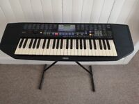 Yamaha PSR-78 Electronic Keyboard with Stand and Book